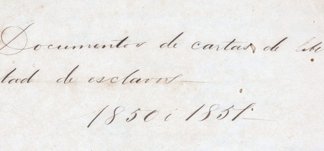 Slavery in Colombia Collection (Primary Sources)