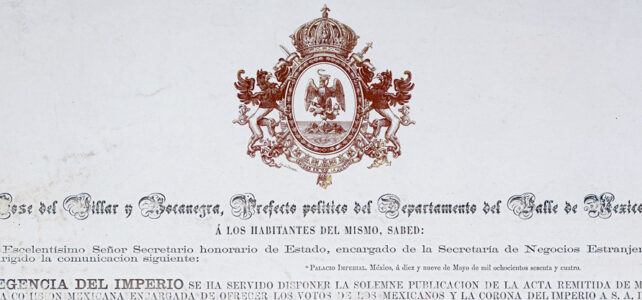 Broadsides and Circulars from the Genaro García Collection (Primary Sources)