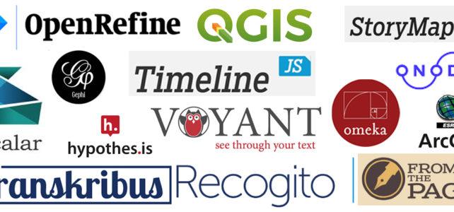 Digital Scholarship Tool List (Reference)